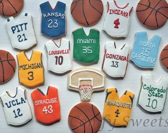 March Madness / Basketball Cookies