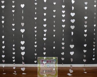 White Heart Photography Backdrop Heart Dessert Table Backdrop Wedding Backdrop Wedding Shower Backdrop Cake Table Backdrop