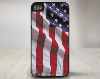 American Flag iPhone 5s Case, American Flag iPhone 5 Case, American Flag iPhone Case Protective USA Flag Phone Case-50-235