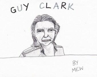 Guy Clark Digital Print
