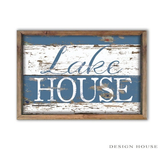Summer House Decor: Lake House Decor Summer House Signs Lake Signs Beach House
