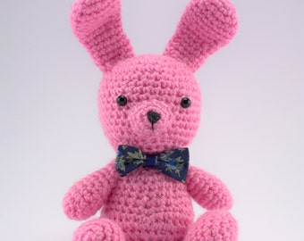 Crochet Bunny, Amigurumi Bunny, Stuffed Bunny, Soft Toy Bunny, Plush Bunny, Crochet Animal Toy