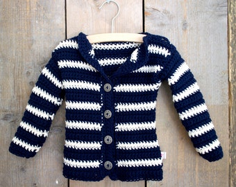 Baby Cardigan Vest Banded