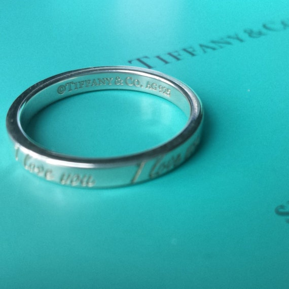 Tiffany Notes I Love You Ring Review