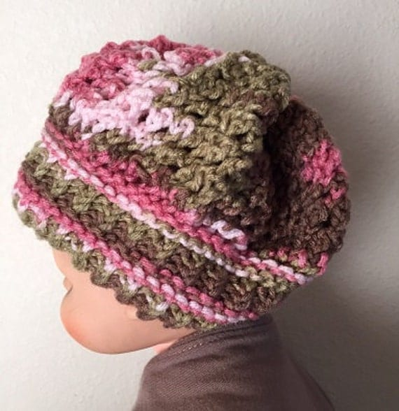 Knitting Loom Patterns Baby Hats : Rivulet Baby Hat a loom knit pattern
