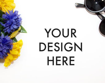 Flower Styled Stock / Stock Photography / Scene / Product Mockup / Photography Background / Flower / High Res File