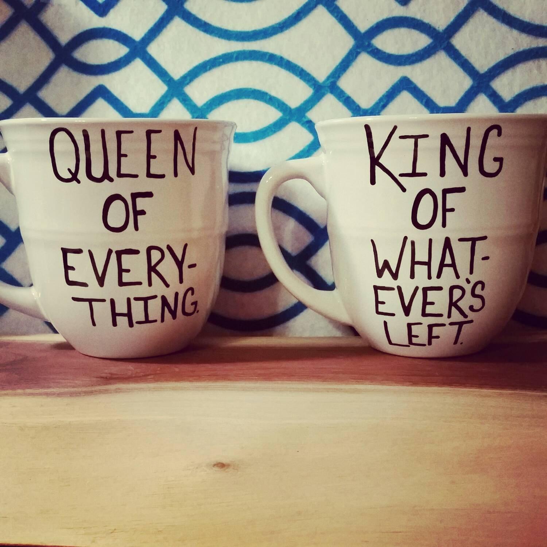 Wedding Gift Mugs: Mug Set-Mug-Cup-Anniversary-Wedding Gift-Couples By LOVEinamug