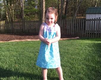 Summer Dress with Monogram