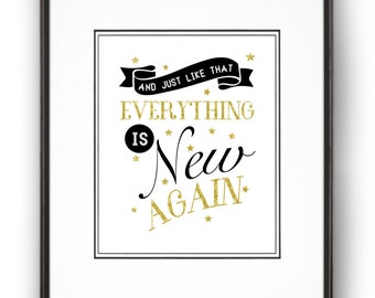 Everything is New Again Art Print