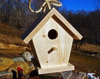 Wooden Bird House (unfinished)