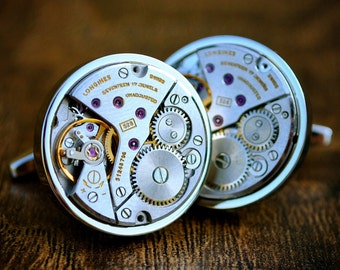 Longines Watch Movement Cufflinks