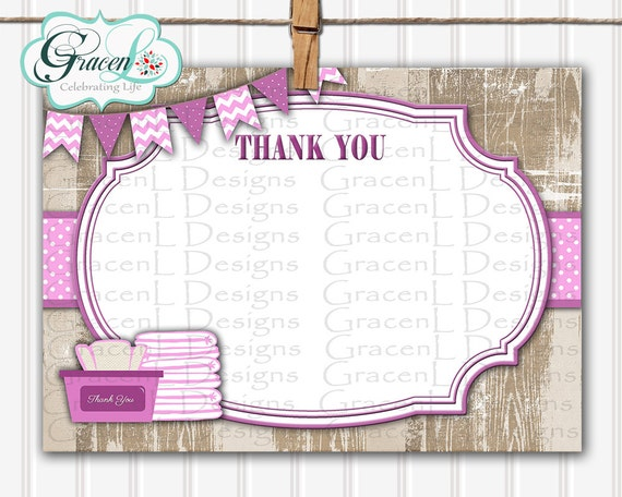 baby shower invitation diaper and wipes baby shower thank you card