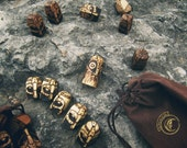 Warriors - carved game pieces