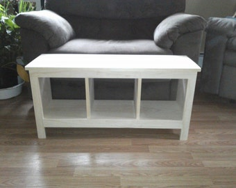 Unfinished Bench Custom Furniture Shoe Cubby Cubby Storage Bench Bench Seat Entertainment Center