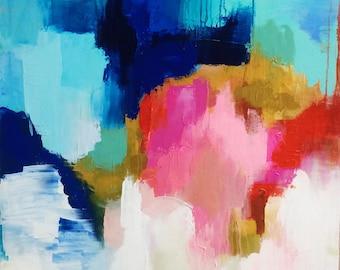 "CS Original Abstract Print, ""Over My Head"""