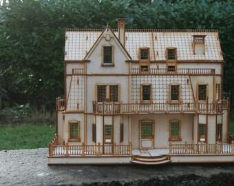 Gothic Villa Dolls House