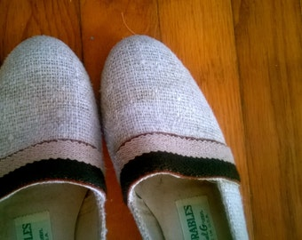 """Darling """"Outdoorables"""" Canvas Wedges"""