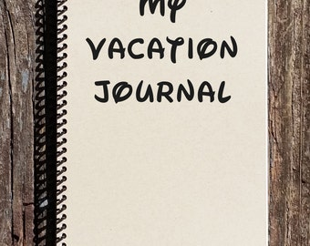 Disney Inspired Vacation Journal - My Disney Vacation - Vacation Journal - Disney Cruise