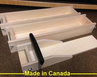 5 to 6 Lb. Wood Soap Molds and Adjustable Cutter