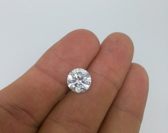 3.67 Carat F SI2 Diamond Engagement Ring 14K 4 Prong Solitaire Anniversary Bridal Certified Jewelry Must See!!  Low Price Special! Hurry!!