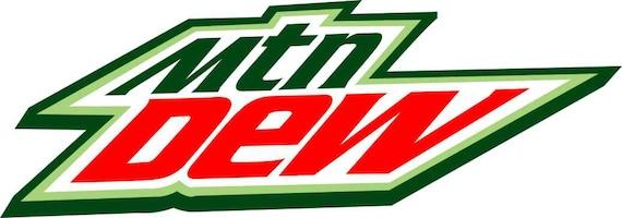 14 Mountain Dew Soda Pop Logo Decal Sticker Mtn By