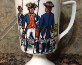 Revolution Soldiers Coffee Cup Candle You Choose Your Scent and Color!