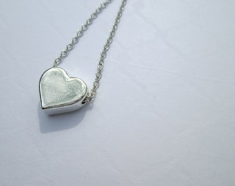 Cute Heart Charm Necklace