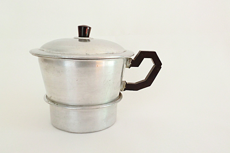 Rare and antique Italian coffee maker L Araba