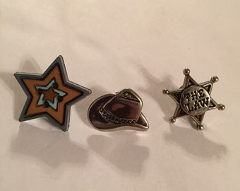 Country Western Pins!