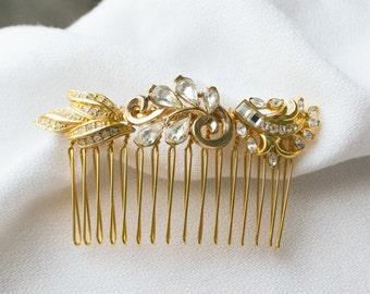 Handmade vintage haircomb