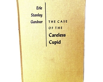 Vintage Perry Mason Mystery, The Case of the Careless Cupid by Erle Stanley Gardner