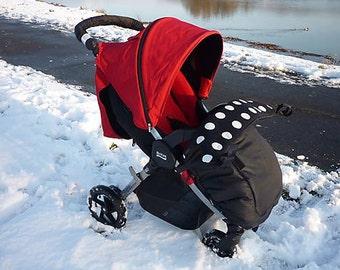 Growing thermo footmuff for Britax B-agile