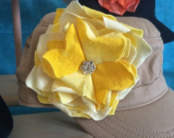 Snap Flowers easily interchangeable with Snap Hats~