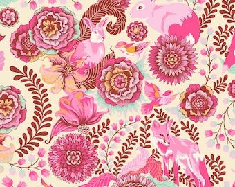 Tula Pink Sunrise Fox Trot cotton woven 1/2 Yard listing