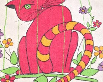 Mod Cat Calendar from 1973