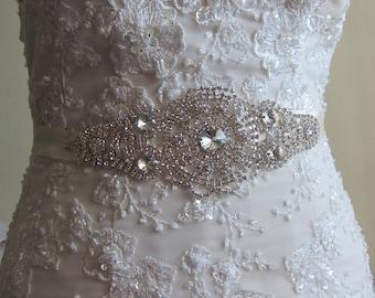 Bridal Sash / Rhinestone Bridal Sash