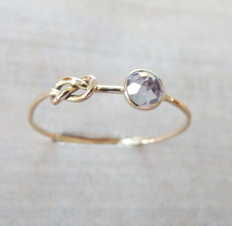 Delicate Tanzenite Ring