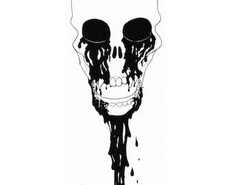 Art Print 'Black Blood'