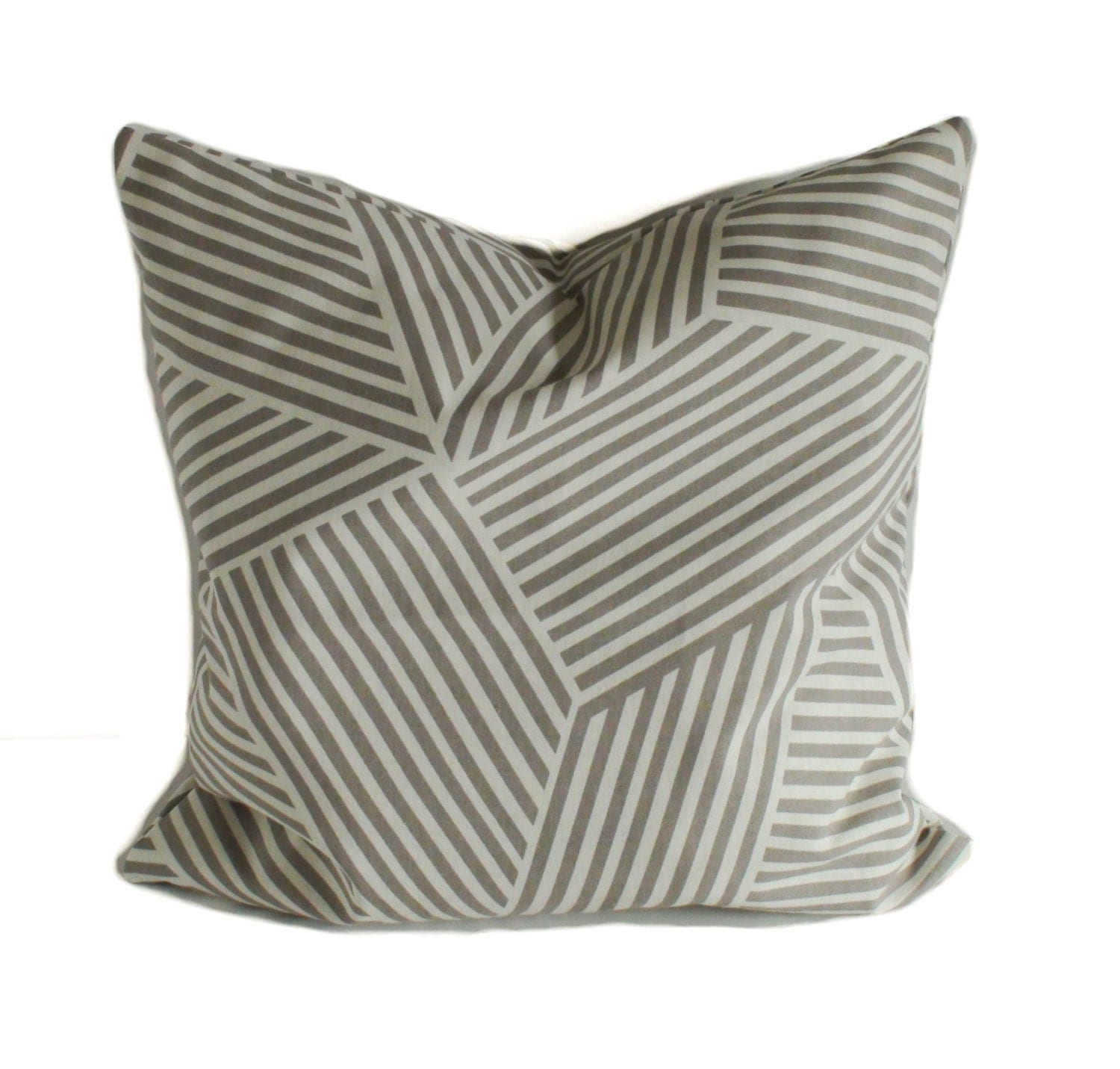 Gray Throw Pillow Cover Gray Pillow Pillow Cover Decorative