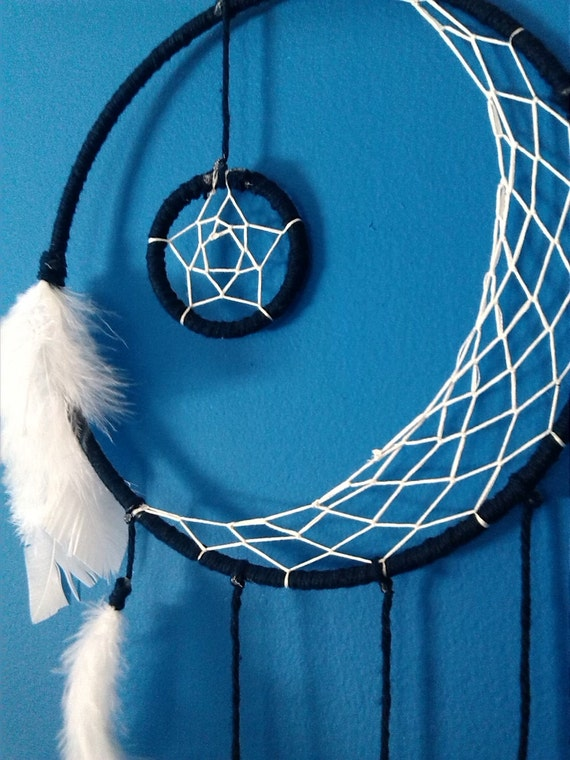 Crescent Moon Dream Catcher Made To Order By
