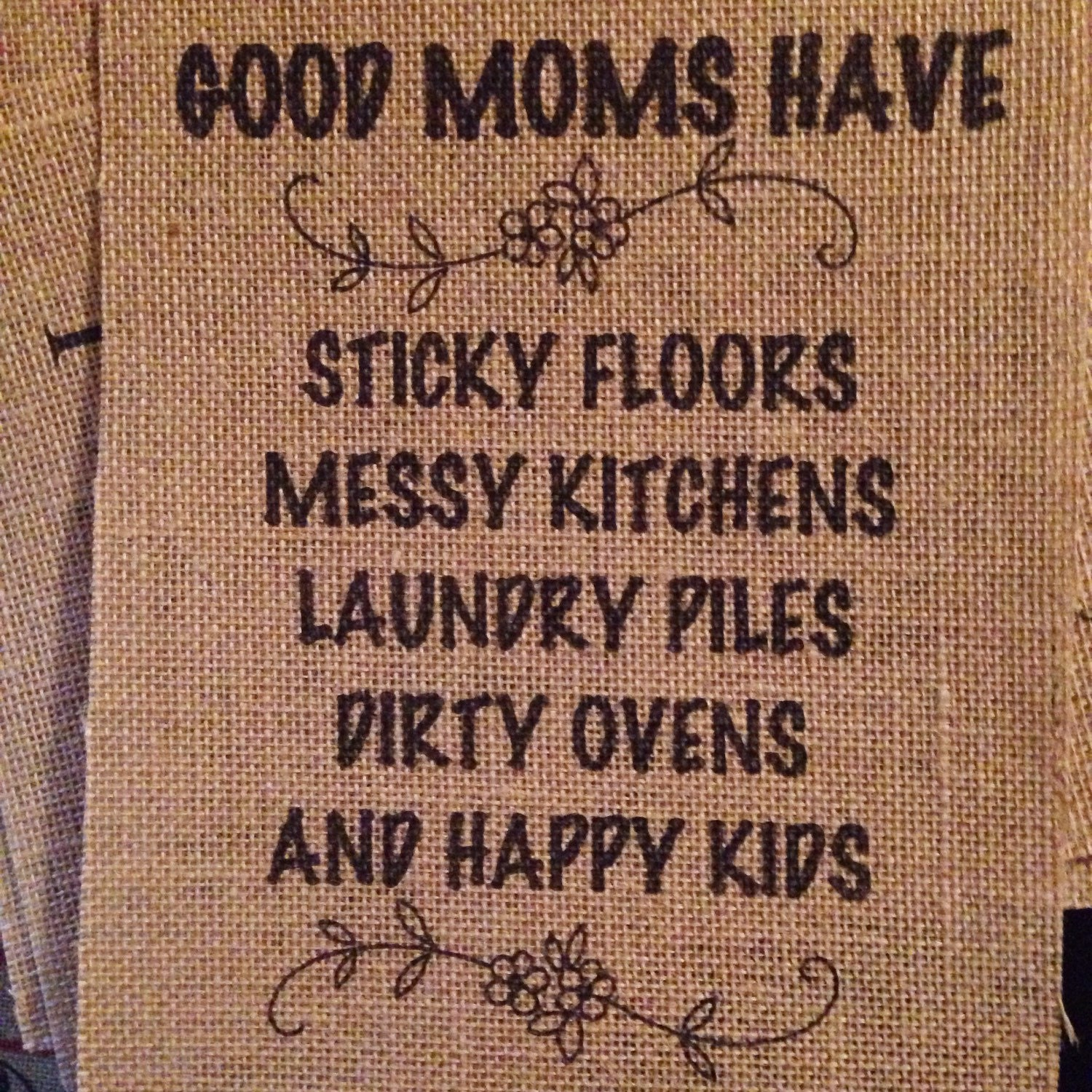 Messy Kitchen Kids: Good Moms Have Sticky Floors Messy Kitchens Laundry Piles