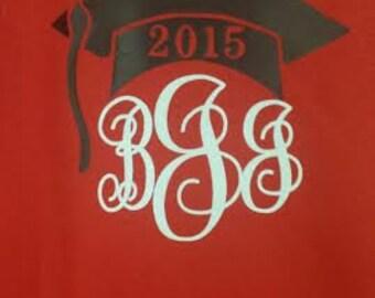 Mongrammed Graduation T-Shirt