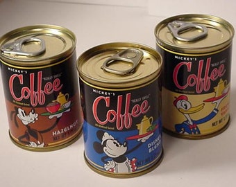 Disney Collectible from Disneyland Resorts - Walt Disney World Theme Perks Coffee Gift Pack with Mickey, Minnie, Donald Duck and Pluto