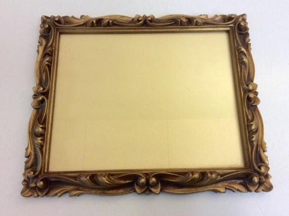 vintage gold ornate 8 x 10 picture frame gold by loftatticearth. Black Bedroom Furniture Sets. Home Design Ideas