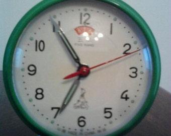 Vintage Five Rams mechanical alarm clock