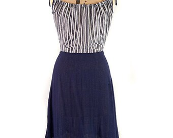 Part Time Sailor, Dress by Zanie c.1970
