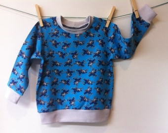 Various sweatshirts for 1-year-olds, mt 84