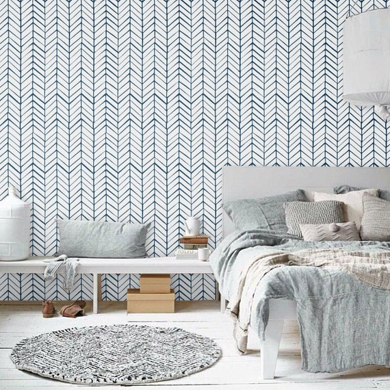 Self adhesive vinyl temporary removable wallpaper wall decal for White self adhesive wallpaper
