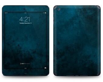 Blue Abstract Print - Apple iPad Air 2, iPad Air 1, iPad 2, iPad 3, iPad 4, and iPad Mini Decal Skin Cover
