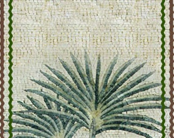 Islamic Marble Arched Mosaic